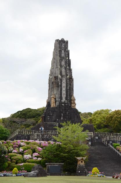 八紘一宇の塔(宮崎県平和台公園)_e0171573_22235865.jpg