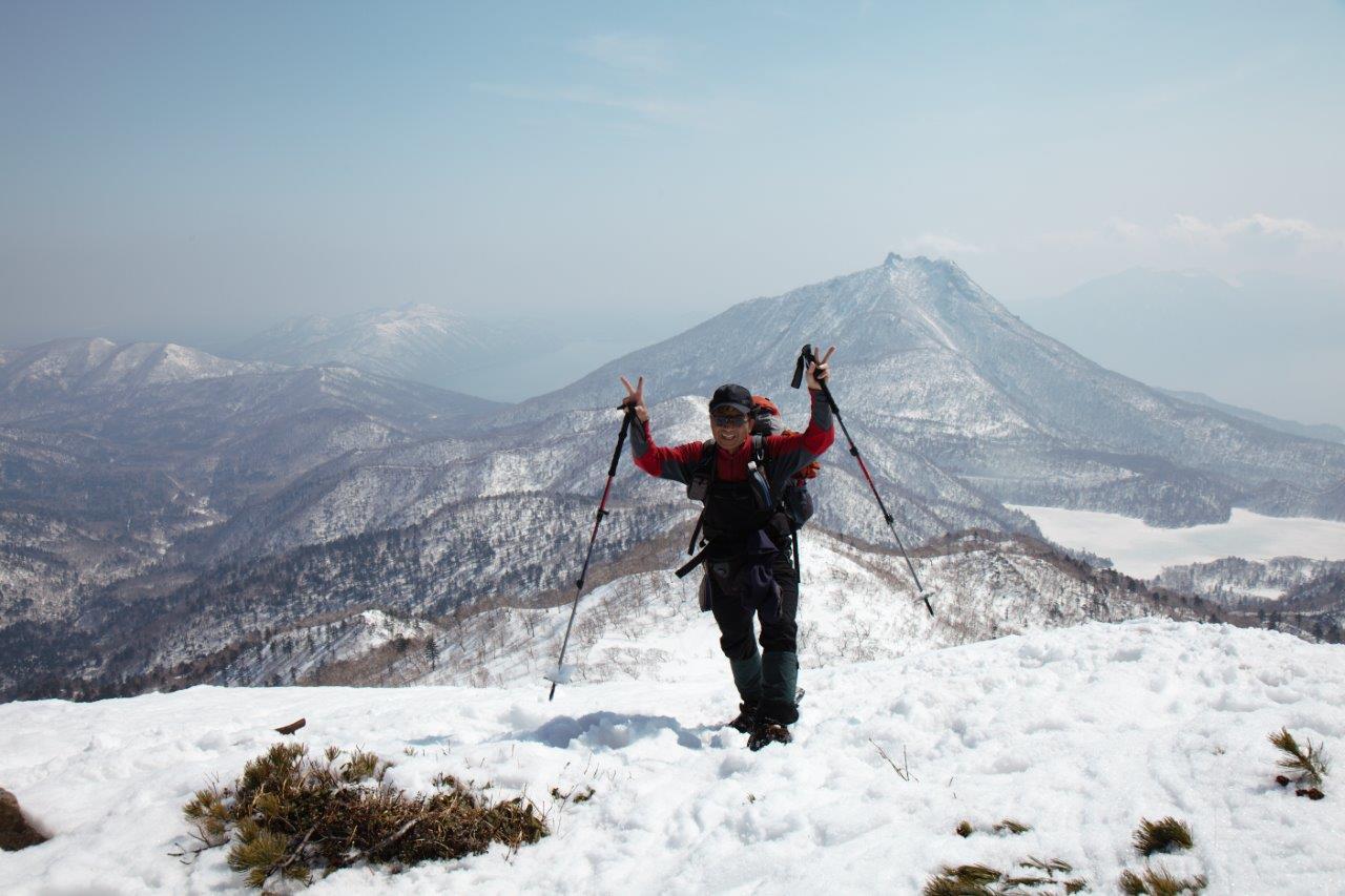 漁岳、3月29日-同行者からの写真-_f0138096_19533094.jpg