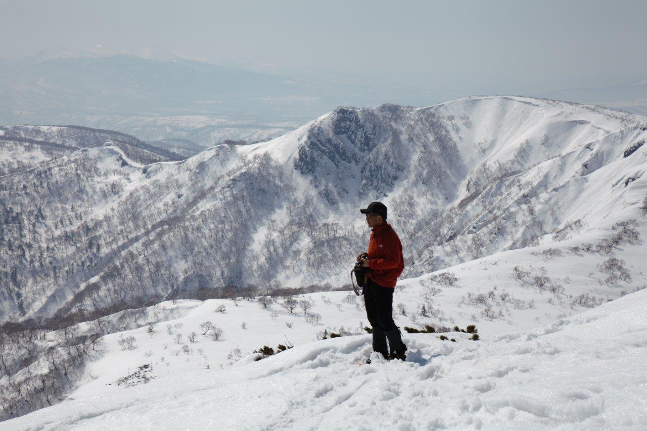 漁岳、3月29日-同行者からの写真-_f0138096_19534078.jpg
