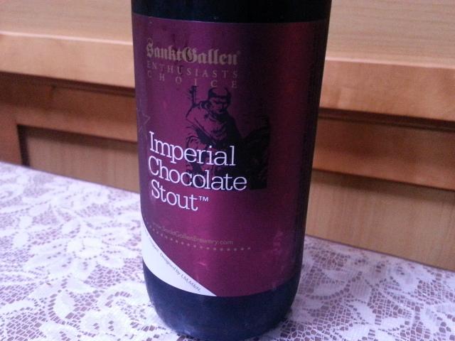 3/27のビールVol.127 サンクトガーレン インペリアルチョコレートスタウト2014_b0042308_11125412.jpg