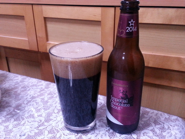 3/27のビールVol.127 サンクトガーレン インペリアルチョコレートスタウト2014_b0042308_11133579.jpg