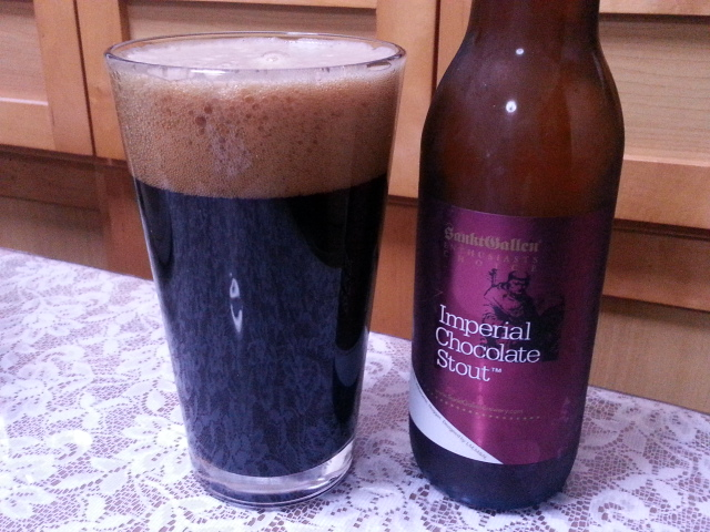 3/27のビールVol.127 サンクトガーレン インペリアルチョコレートスタウト2014_b0042308_11142460.jpg