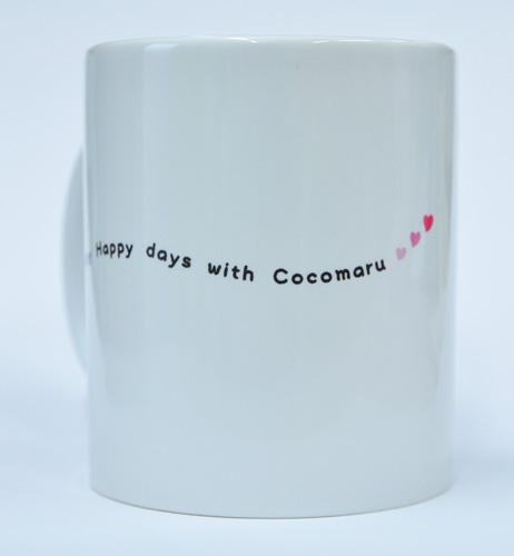 ココまるちゃん「青空コーギー」マグカップ_d0102523_1695392.jpg