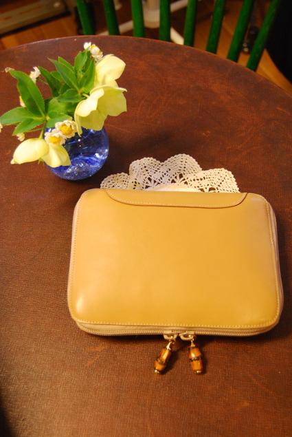 グッチのbagを通帳ケースにリメイクしました!!_d0127925_19575099.jpg