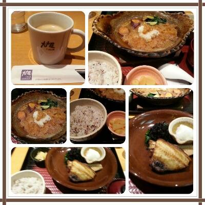 そとでお昼withオット@大戸屋♪_d0219834_13371777.jpg