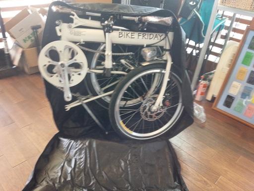 納車 Bike Friday_d0147944_1123985.jpg