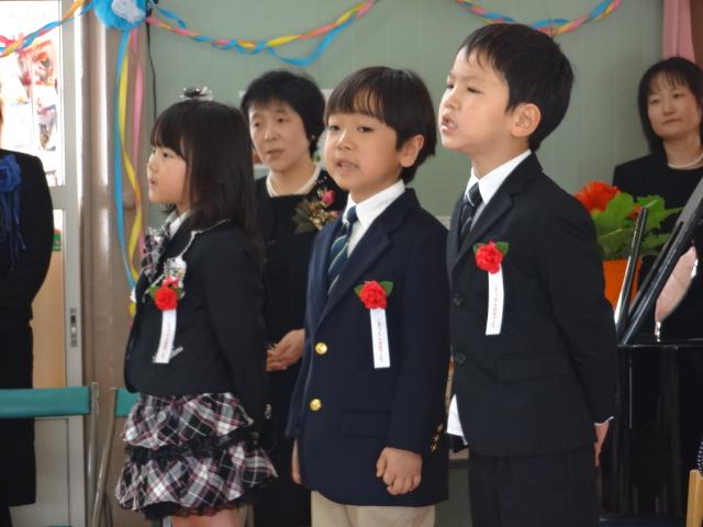 祝 卒園式_d0166047_1161693.jpg