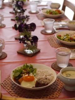 パルケ先生3月 dish lesson『ロコモコプレートランチ』 _e0159185_12483234.jpg