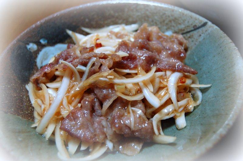 新タマネギと豚肉の南蛮漬け_c0057390_092249.jpg