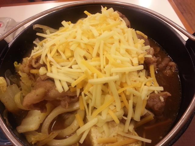 3/17 とろ~り チーズカレー鍋定食¥650@すき家_b0042308_23361269.jpg