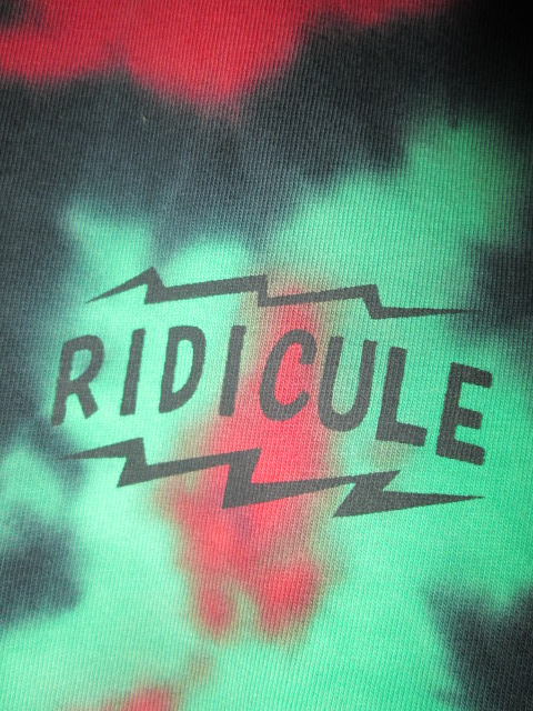 RIDICULE (リディキュール) A.T.C.Q Tシャツ_f0181819_1892041.jpg