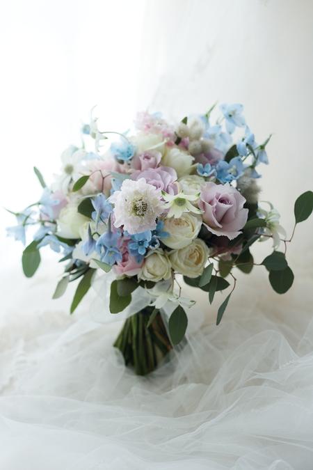 クラッチブーケ 軽井沢高原教会様へ 春の水辺_a0042928_1959873.jpg