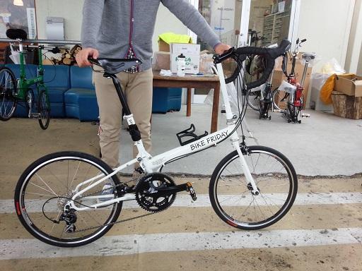 納車 Bike Friday_d0147944_12304572.jpg