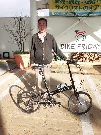 納車 Bike Friday_d0147944_12305774.jpg