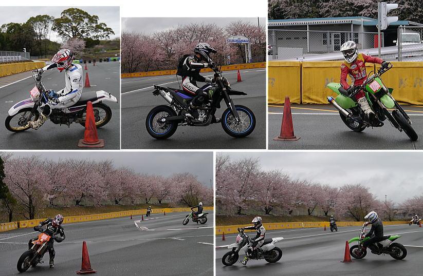 桜舞うモタードスクール_f0178858_20304131.jpg