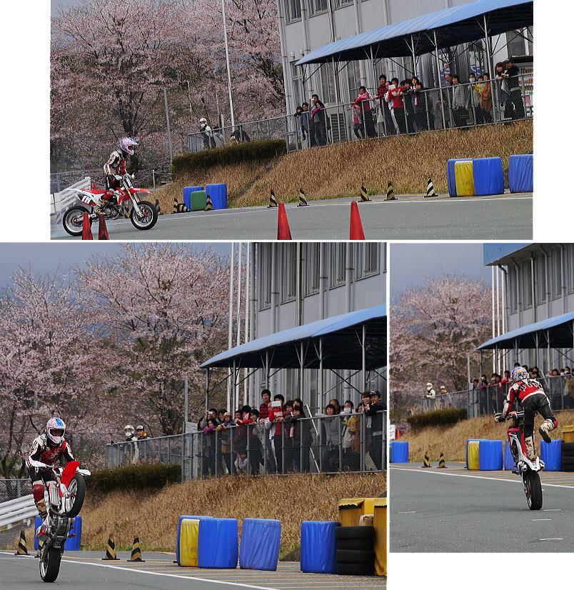 桜舞うモタードスクール_f0178858_20374853.jpg
