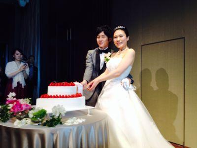 生徒さんの結婚式!!_c0131063_12952100.jpg