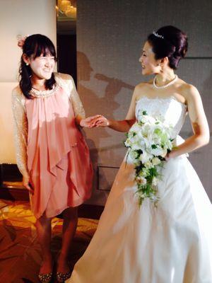 生徒さんの結婚式!!_c0131063_1295388.jpg