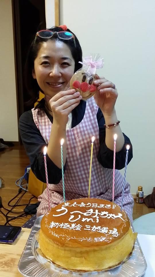 シンガーソングライター、うーみちゃんの壮行会パート2_c0186691_1722284.jpg