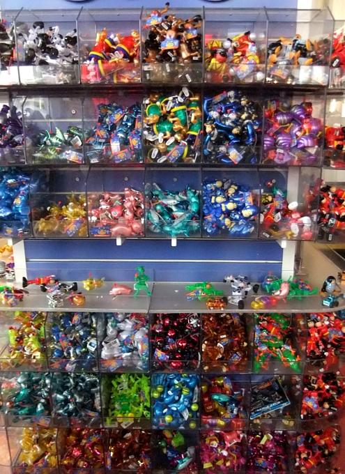 ニューヨークの老舗のおもちゃ屋さん、FAOシュワルツの店内風景_b0007805_2003486.jpg