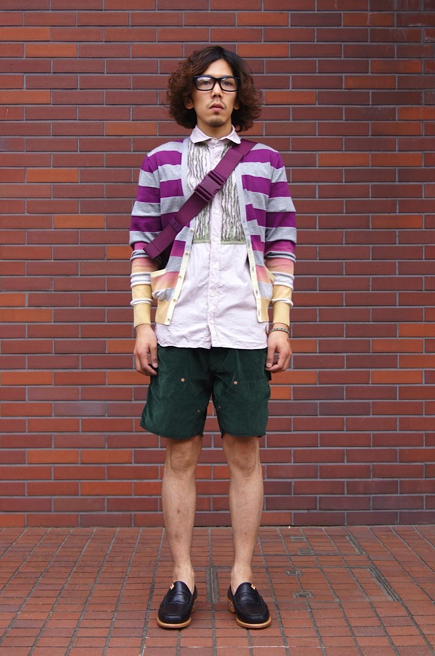 kolor / BEACON - Purple & Green!!_c0079892_20513995.jpg