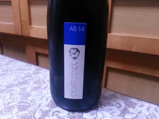 今夜のビールVol.129 ブリュードッグ アブストラクトAB14_b0042308_0272511.jpg