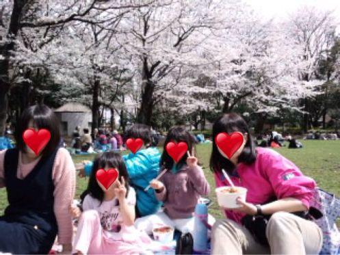 🌸みんなでお花見🌸_b0203925_13265481.jpg