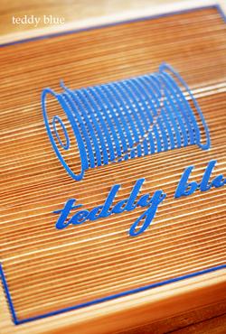wood sign board for teddy blue  テディブルー サインボード_e0253364_21314960.jpg