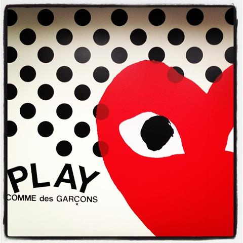 PLAY COMME des GARCONS - Loved by many people of the world!!_c0079892_20384433.jpg