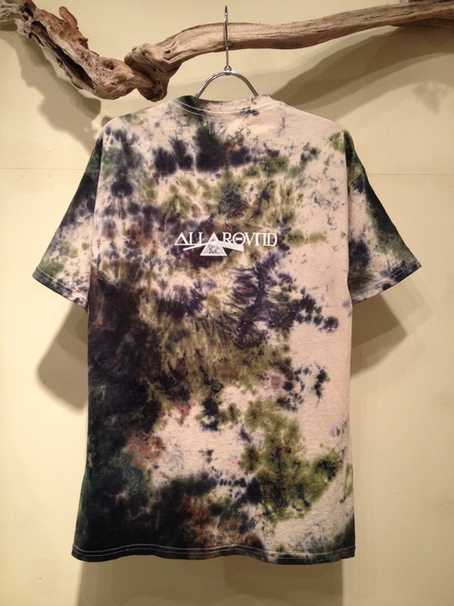 ALLAROUND x THE STAKE  COLLABORATION (Fac-10 SPOT DYEING S/S Tee)_f0126931_160237.jpg