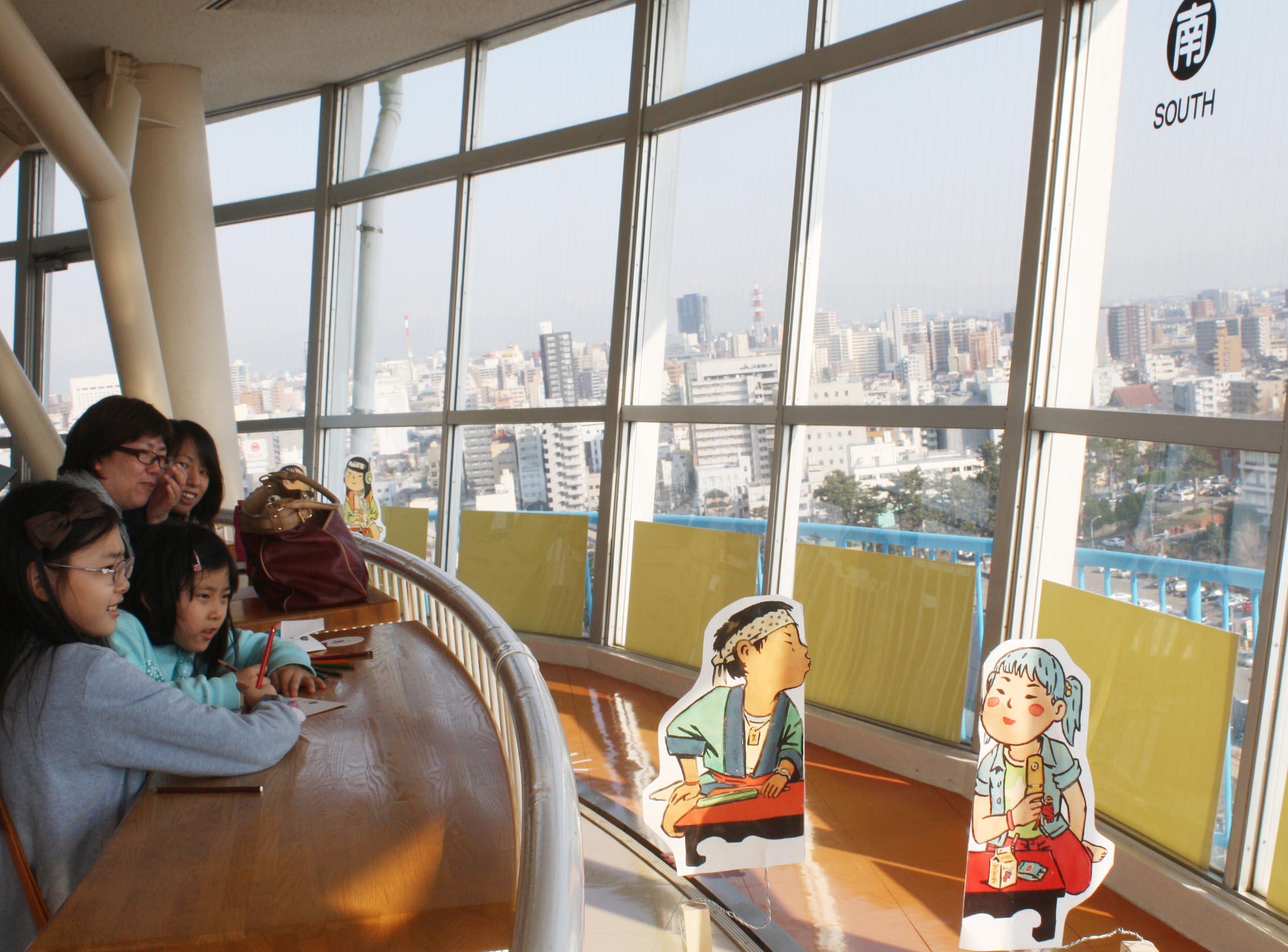 『春山登山2014展』が始まり、日本海タワーでチーム蔵織も参加しています。_d0178448_16413720.jpg