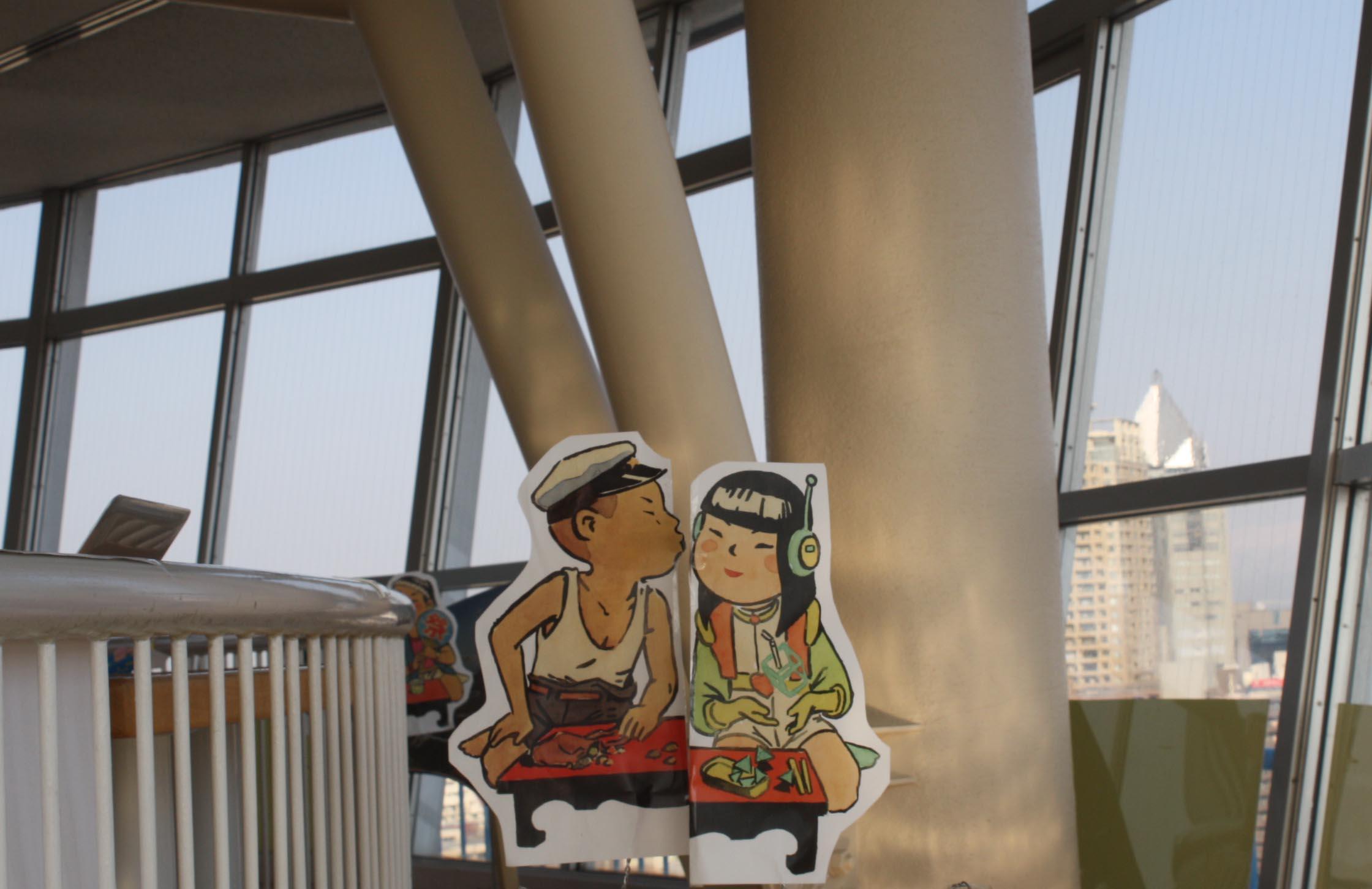 『春山登山2014展』が始まり、日本海タワーでチーム蔵織も参加しています。_d0178448_16425707.jpg