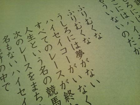寺山修司記念館企画展 『競馬場で会おう』_f0228652_1841356.jpg