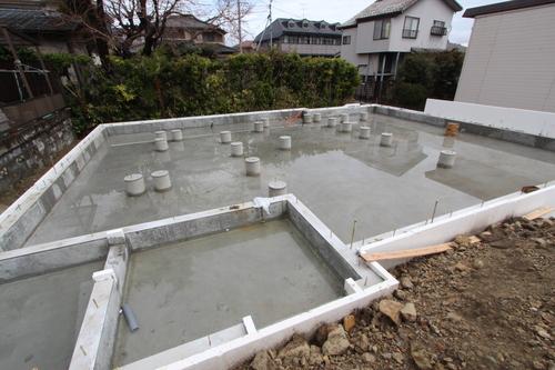 Q1住宅-X1仙台八幡:床下エアコン暖房基礎_e0054299_2246481.jpg