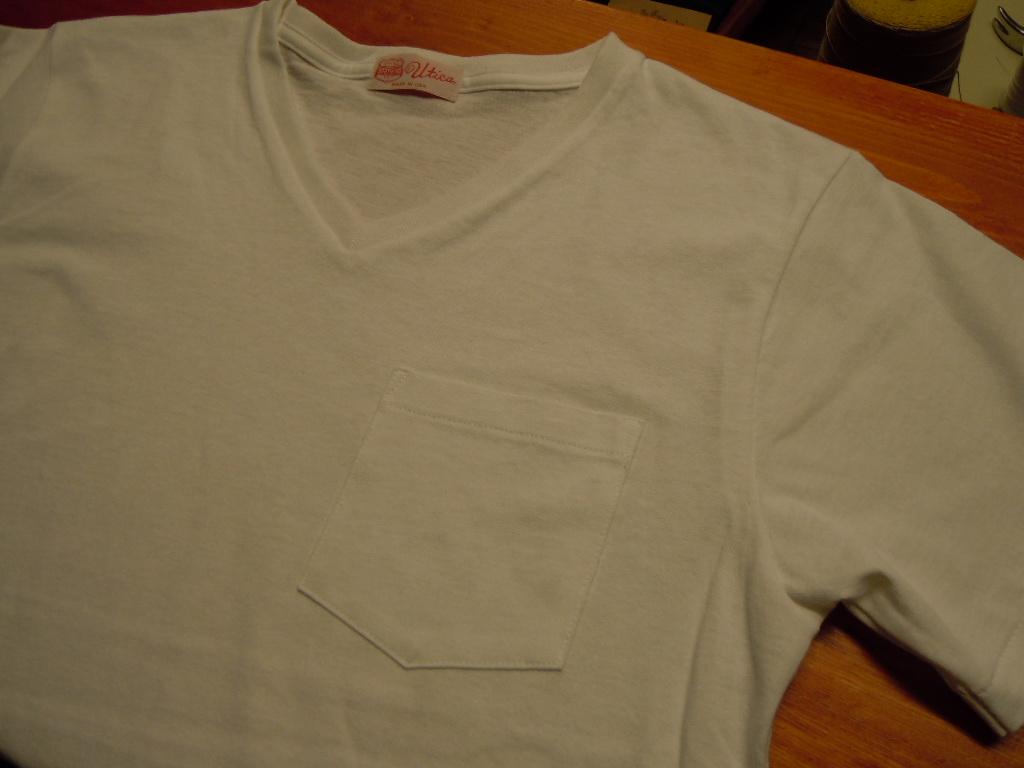 """BODY GARD """"クルーネックTシャツ & VネックTシャツ""""_b0278148_13164621.jpg"""