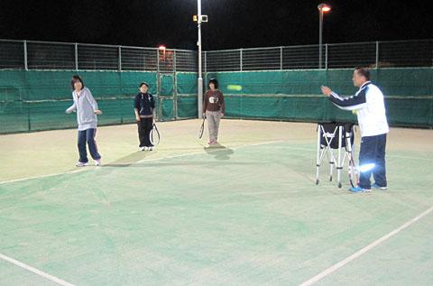 山武市テニス部主催、テニス教室が始まりました_a0151444_1854535.jpg