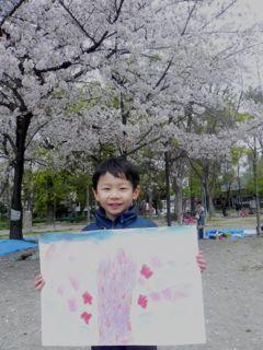 2014年桜満開の写生会_d0076558_16193026.jpg