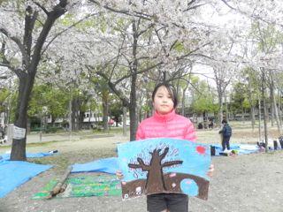 2014年桜満開の写生会_d0076558_16264865.jpg
