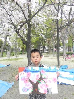 2014年桜満開の写生会_d0076558_16275609.jpg