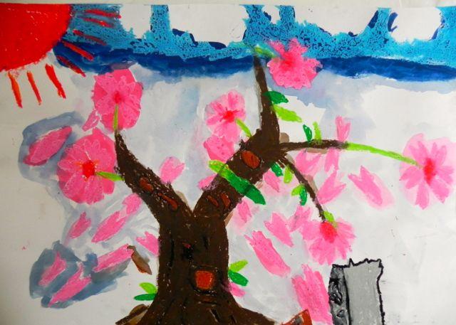 2014年桜満開の写生会_d0076558_16282686.jpg