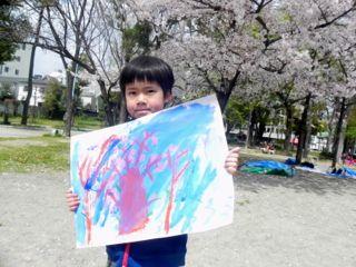 2014年桜満開の写生会_d0076558_16311914.jpg