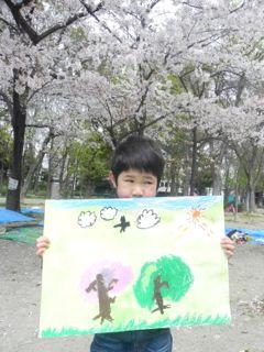 2014年桜満開の写生会_d0076558_16322432.jpg
