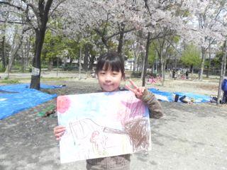 2014年桜満開の写生会_d0076558_16331810.jpg