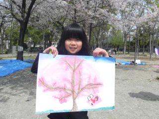 2014年桜満開の写生会_d0076558_16341249.jpg