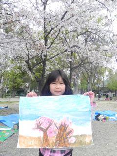 2014年桜満開の写生会_d0076558_16350872.jpg