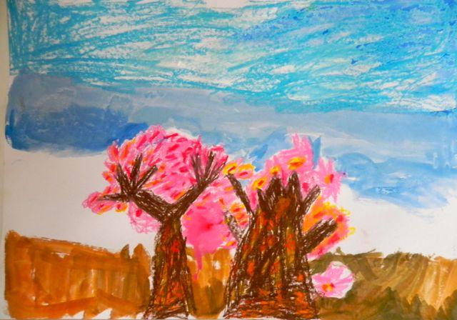 2014年桜満開の写生会_d0076558_16352455.jpg