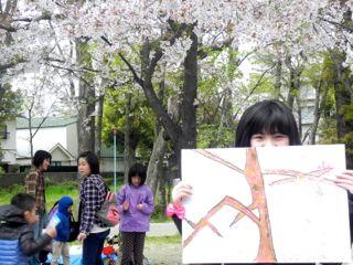 2014年桜満開の写生会_d0076558_16471187.jpg