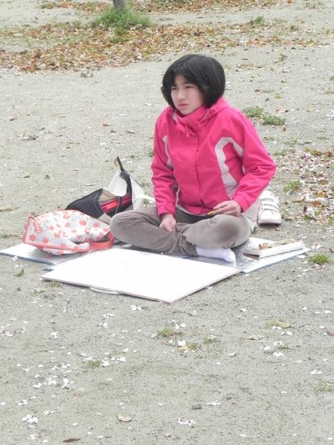 2014年桜満開の写生会_d0076558_16474909.jpg