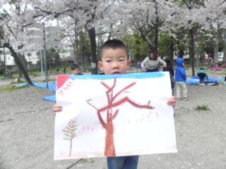 2014年桜満開の写生会_d0076558_16505139.jpg