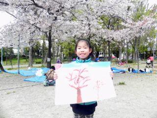 2014年桜満開の写生会_d0076558_16510525.jpg